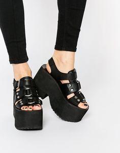 UNIF Bound Platform Sandals