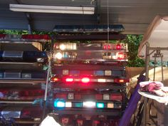emergency lights F. Lights And Sirens, Emergency Lighting, Police Cars, Radios, Ems, Old School, Fire