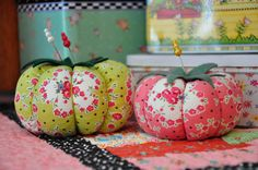Clover & Violet — Some of my pincushions