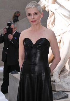 Michelle Williams au défilé Louis Vuitton