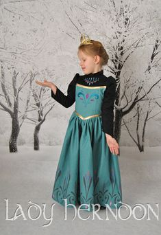 My Fairy Tale Elsa's Coronation Dress from Disney's by LadyHerndon