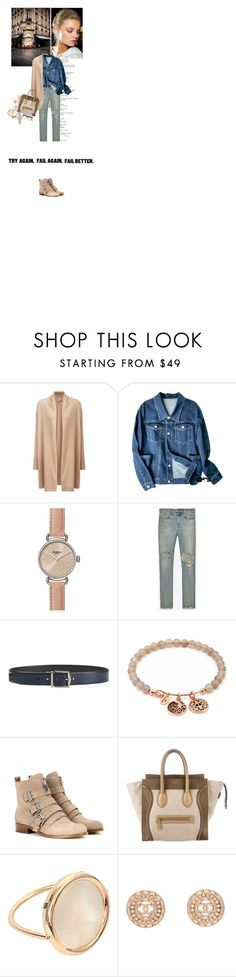 """""""554"""" by kateandjules ❤ liked on Polyvore featuring Roberto Cavalli, Pure Collection, Shinola, Yves Saint Laurent, Burberry, Chrysalis, MICHAEL Michael Kors, Ginette NY, Chanel and Cutler and Gross"""