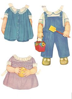 Miss Missy Paper Dolls: Baby Sister Date: 1929 Publisher: Whitman Artist:Queen Holden