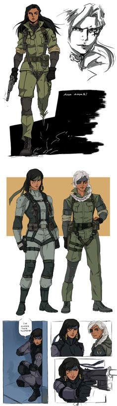 Big Boss Ana and Solid Pharah