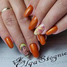 Уговорили меня опять на этот дизайн...Хочу ежика и всё! !!#гельлак #коррекциягель #nails_masters #nail_art_club #nails_Journal #nails_page #ручнаяроспись #follow4follow #осеннийманикюр #китайскаяроспись #гельлак #френч #nails_Journal #ежикнаногтях
