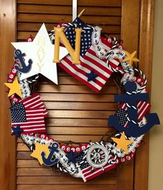 US Navy Wreath