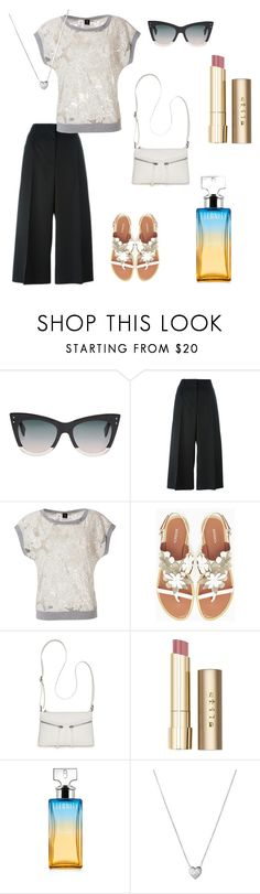"""let's have a walk"" by poisonivy72 ❤ liked on Polyvore featuring Fendi, Alexander McQueen, Bird by Juicy Couture, Max&Co., Bueno, Stila, Calvin Klein and Links of London"