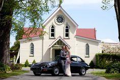 Introducing Melanie and Richard (beautiful church - Napier, New Zealand)
