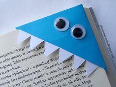 chwytać marzenia: Diy - Zakładka do książki z zębami.