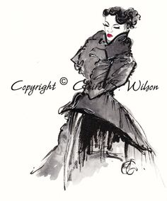Dior 2011  Art Print 5x7 by claireswilson on Etsy