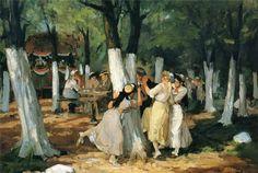 John Sloan - The Picnic Grounds