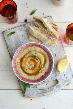 In season in July - aubergines. Mediterranean smoked aubergine dip as a seasonal alternative to humous #food #recipe