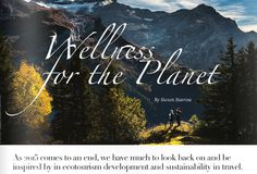 The latest on ecotourism & travel sustainability in fabulous guest piece from @ecowanderlust.