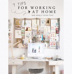 7 Tips For Working at Home... And Doing it Stress Free! | Wonder Forest: Style, Design, Life.