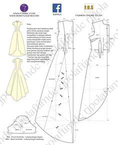 Sewing Barbie Clothes, Barbie Sewing Patterns, Doll Dress Patterns, Clothing Patterns, Diy Clothes, Costume Patterns, Fashion Sewing, Diy Fashion, Free Barbie