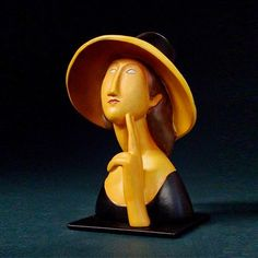 Amedeo Modigliani Jeanne Hebuterne sculpture