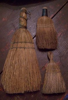EARLY WISK BROOMS