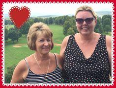 My lovely Mom and I My Mom