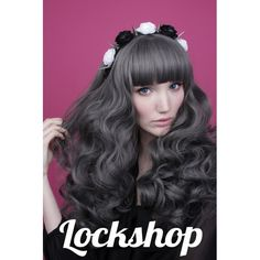 Lockshop Wig Mermaid Gunmetal