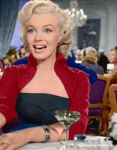 Forever Beautiful • Marilyn Monroe Gentlemen Prefer Blondes,1953