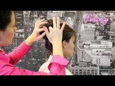 How To Create Upstyle Hair Bun Using Ponytail - Hair Up Styles, Hairspray, Bun Hairstyles, Ponytail, Hair Accessories, Tv, Create, Hair Sprays, Pony Tails