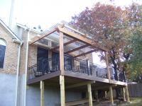 corrugate fiberglass deck cover