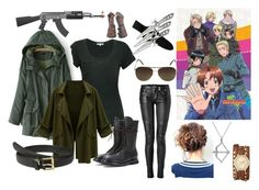 """""""Hetalia"""" by the-narnian-princess ❤ liked on Polyvore featuring Cotton Citizen, Rick Owens, RIFLE, XOXO, Lauren Ralph Lauren, Studio Silver, Balmain and Vince Camuto"""