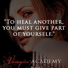 Vampire Academy quote, love these books