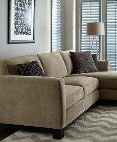 Kenton Fabric Sectional Living Room Furniture Collection