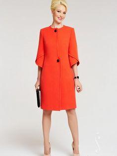 Demi- musim coat Perempuan 2016: Gambar model modis dan stylish dan gaya untuk wanita - One Lady