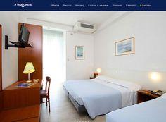Caravel, l'hotel a Marotta direttamente sul mare. Restyling sito web:www.hotel-caravel.it