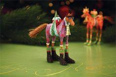 Mini Marcel Horse Ornament