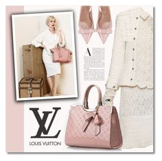 """""""Louis Vuitton Bag"""" by debraelizabeth ❤ liked on Polyvore featuring Louis Vuitton and RED Valentino"""