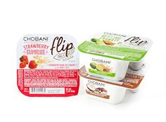 Packaging of the World: Creative Package Design Archive and Gallery: Chobani Flip
