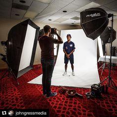 Behind the scenes by @johngressmedia : #behindthescenes from my #photoshoot for @paniniamerica with @usabaseball U17 player @cjabrams01. #ChimeraLighting #usabaseball #elinchrom #ig_portrait #ig_portraits #portraits_ig #portraits #Whodoyoucollect #johngressmedia #PaniniAmerica #makeportraits #flashphotography #portraitphotography #setlife #portraits_ig #teamcanon #pursuitofportraits #profotousa #iso1200 #johngressmedia #strobist #profoto #studiophotography #famousbtsmag #profotoglobal #chi