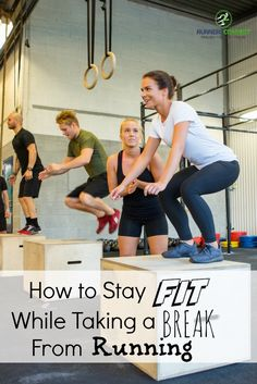 Runners all have to take time off running sometimes; after marathons or big races; when injuries occur; or just burnout, but how do you stay fit? This article covers various forms of cross training, even ones you never thought a running coach would suggest!