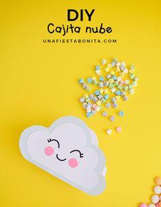 DIY dulcero en forma de nube Regalo Baby Shower, Diy And Crafts, Crafts For Kids, Twin Birthday Parties, Ideas Para Fiestas, Dragon Ball, Martini, Creative, Party