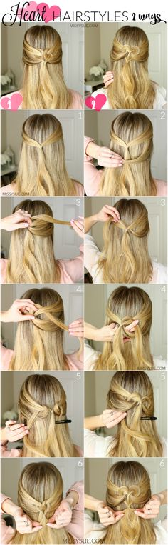 Next week is Valentine's Day so I thought it'd be fun to share a cute heart hairstyle tutorial! I've been seeing these types of hairstyles everywhere but quickly noticed there were different ways to do them. The two different techniques create different shaped hearts but…