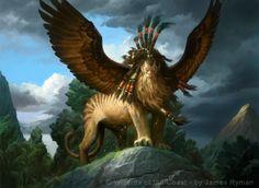 Sphinx of Magosi art by James Ryman