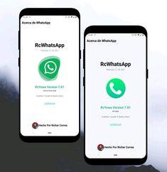 DOWNLOAD RC-YOWA 7.81 ATUALIZADO (CORREÇÃO) Whatsapp Apk, Whatsapp Plus, Material Design, Tema Iphone, Ios, Download, Geek Stuff, Technology, Ui Design