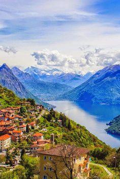 Monte Bre, Switzerland (by Corina Näf) - via Ender Şimşek