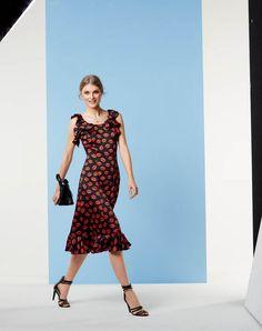 BURDA - Flounce Dress #110