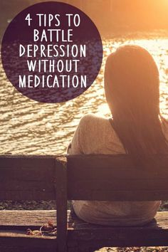 The best treatment for depression without (prescribed) medication