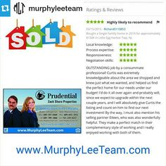 #Repost @murphyleeteam #LoveOurClients Thank you Rich & Catherine we hope you are very happy in your #JerseyShoreDreamHome #RealEstate #Realtor #JerseyShore #SocialMediaMLS #MultipleListingService