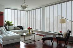 Hunter Douglas Skyline® contemporary-vertical-blinds
