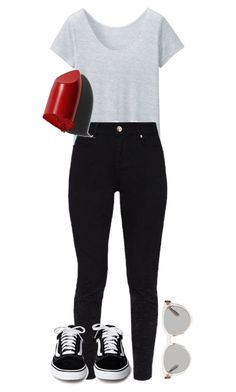 """""""#261"""" by mintgreenb on Polyvore featuring Uniqlo, Ted Baker, Bobbi Brown Cosmetics and Yves Saint Laurent"""