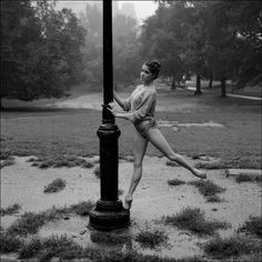 Ballerina Dancing In The Rain.