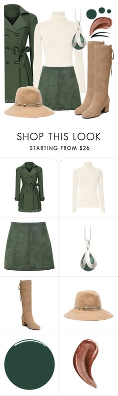 """🍃🍂🍃🍂"" by avagoldworks ❤ liked on Polyvore featuring WithChic, George J. Love, Aerosoles, Eugenia Kim, Smith & Cult, Gucci and avagoldworks"