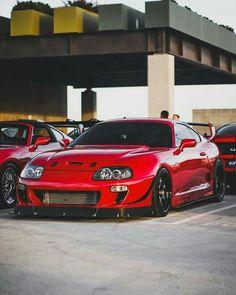 Toyota Supra Mk4, Autos Toyota, Bmw Autos, Toyota Cars, Tuner Cars, Jdm Cars, Street Racing Cars, Auto Racing, Drifting Cars