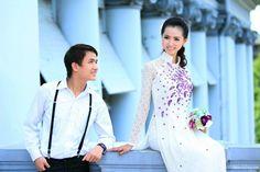 Chụp ảnh cưới đẹp với áo dài http://twedding.vn